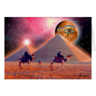 Mystery of the Pyramids Card
