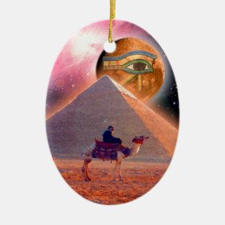 Mystery of the Pyramids Ceramic Ornament