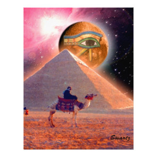 Mystery of the Pyramids Customized Letterhead
