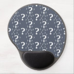 "Mystery question mark riddle puzzle blue-grey gel mouse pad<br><div class=""desc"">Mystery question mark riddle puzzle blue-grey</div>"