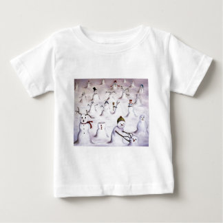 Mystery Revealed at Snowman Hill Baby T-Shirt