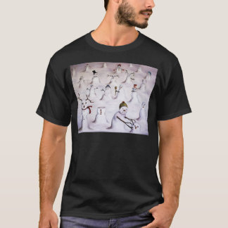 Mystery Revealed at Snowman Hill T-Shirt