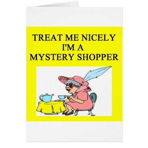 MYSTERY shopper Card
