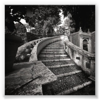 Mystery Stairs Photo Print