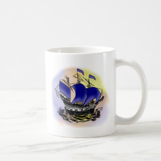 Mystery Tall Ship Coffee Mug