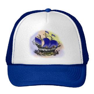 Mystery Tall Ship Trucker Hat