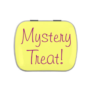 Mystery Treat Party Favor Jelly Belly Candy Tin