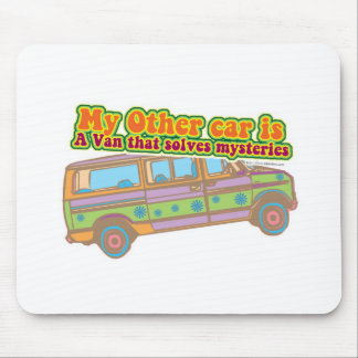 Mystery Van Mouse Pad