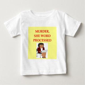 mystery writer baby T-Shirt