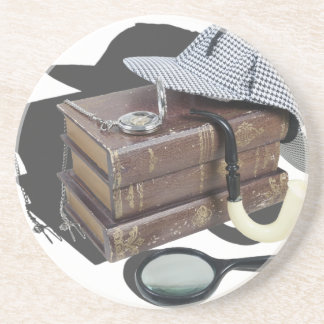 MysteryBooksHatPipeMagnifier042113.png Coasters