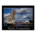 mystic 2009 copy, Mystic, Connecticut Post Card