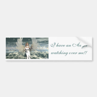 Mystic Angel Bumper Sticker