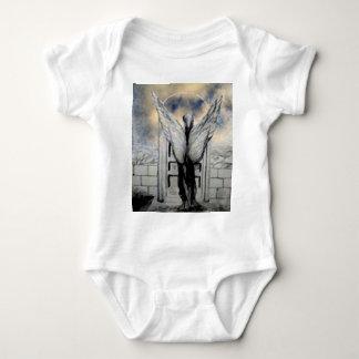 Mystic Angel CricketDiane Art and Design Baby Bodysuit