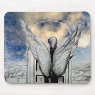 Mystic Angel CricketDiane Art and Design Mouse Pad