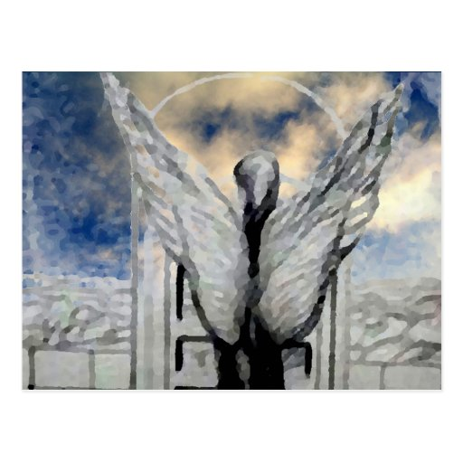 Mystic Angel CricketDiane Art and Design Post Cards