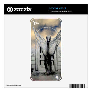 Mystic Angel CricketDiane Art and Design Decal For iPhone 4S