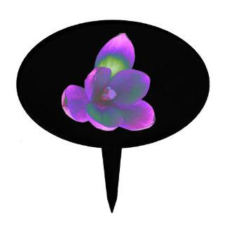 Mystic Beauty Crocus Flower Cake Pick