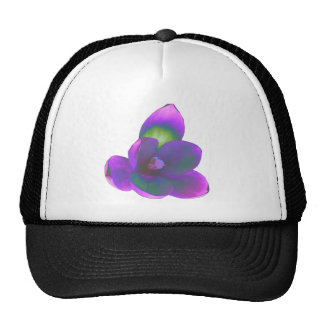 Mystic Beauty Crocus Flower Hat