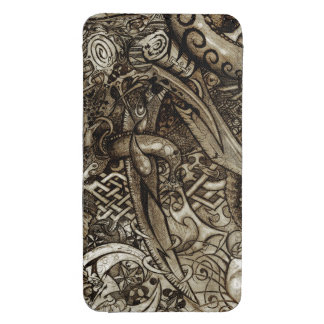 Mystic Blades Intricate Detailed Hand Drawing Galaxy S4 Pouch