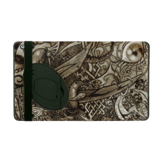 Mystic Blades Intricate Detailed Hand Drawing iPad Covers