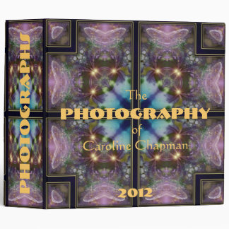 """Mystic Butterfly  2"""" 3 Ring Binder"""