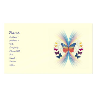 Mystic Butterfly Business Cards