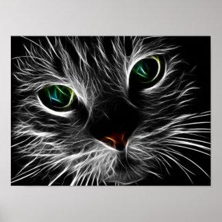 Mystic Cat Poster