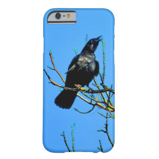 Mystic Cawing Raven & Tree Crow-lover Art Barely There iPhone 6 Case