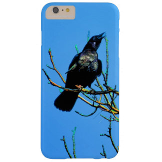 Mystic Cawing Raven & Tree Crow-lover Art Barely There iPhone 6 Plus Case