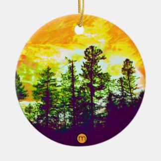 Mystic Ceramic Ornament
