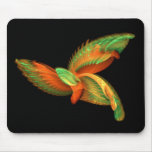 Mystic Colorful Bird Mouse Pad