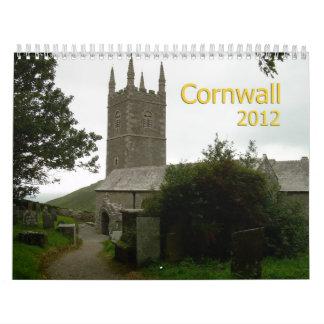Mystic Cornwall 2012 Calendar