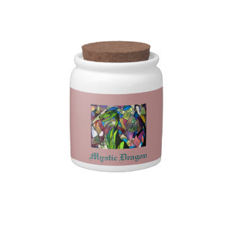 Mystic Dragon Storage Jar Candy Dishes