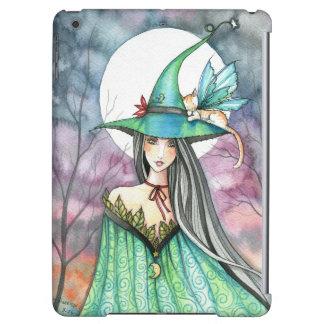 Mystic Duo Cat Fairy and Witch Fantasy Art iPad Air Case