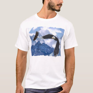 MYSTIC EAGLES &  MOUNTAINS Wilderness T-Shirt