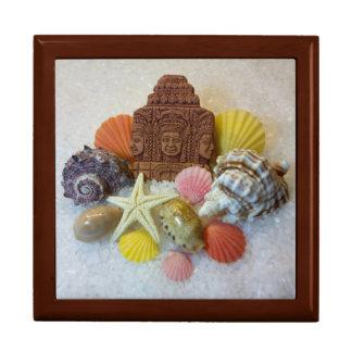 Mystic Energy Seashells & Starfish Tile Gift Box
