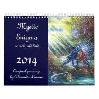 MYSTIC ENIGMA 2014 CALENDAR