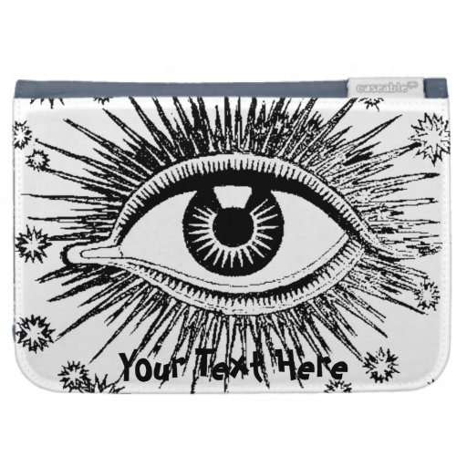Mystic Eye Add Your Text Graphic Art Design Kindle Kindle 3G Covers