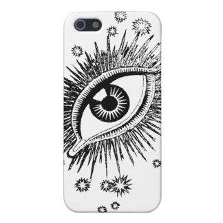 Mystic Eye Big Eyeball Watching You Weird Funny iPhone SE/5/5s Cover