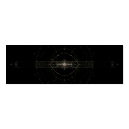 """""""Mystic Eye"""" Fractal Art Double-Sided Mini Business Cards (Pack Of 20)"""