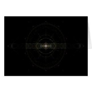 """Mystic Eye"" Fractal Art Card"
