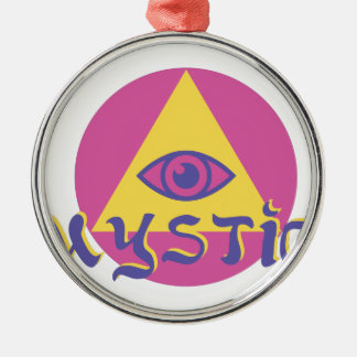 Mystic Eye Metal Ornament