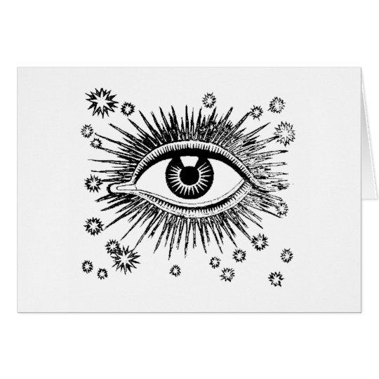 Mystic Eye Sees All Card