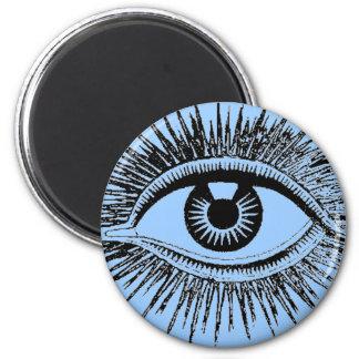 Mystic Eye Sees All Eyeball Watching You Weird Art Magnet