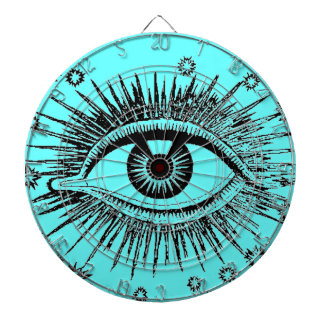 Mystic Eye Sees All Giant Eyeball Game Dart Board