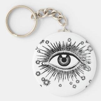 Mystic Eye Sees All Keychain