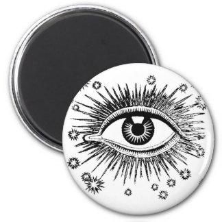 Mystic Eye Sees All Magnet