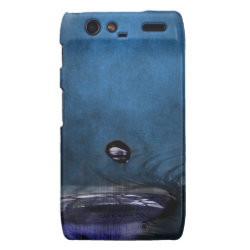 Mystic Eye Water Drop Droid RAZR Cover