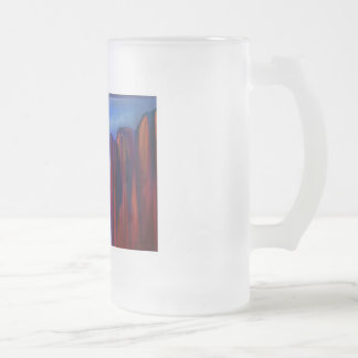 Mystic Falls Frosted Glass Beer Mug
