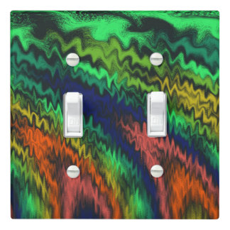 Mystic Fires Light Switch Cover